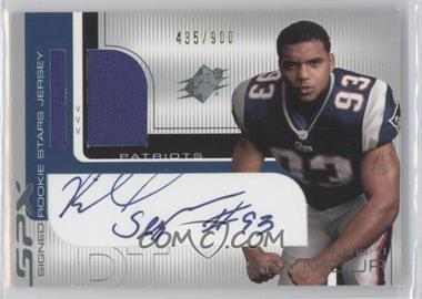 2001 SPx #104 - Richard Seymour /900