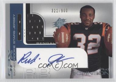 2001 SPx #111 - Rudi Johnson /900
