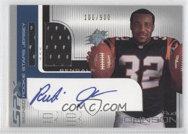 2001 SPx #111.1 - Rudi Johnson (two balls w/ silver foil) /900