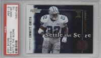 Emmitt Smith, Stephen Davis [PSA 10]