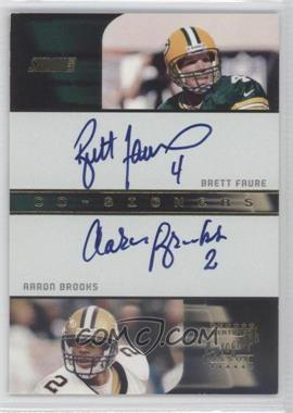 2001 Stadium Club [???] #CO-FB - Brett Favre, Aaron Brooks