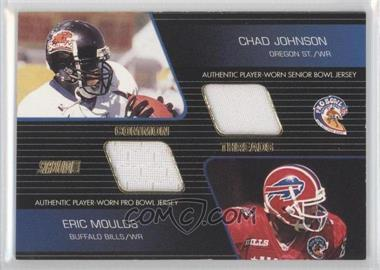 2001 Stadium Club Common Threads #CT-MJ - Chad Johnson, Eric Moulds