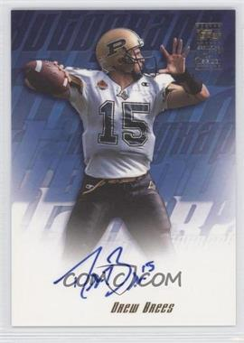 2001 Topps Autographs #TA-DB - Drew Brees