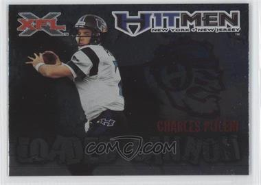 2001 Topps XFL Loaded Cannon #7 - Charles Puleri