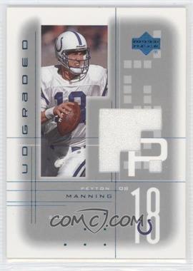 2001 UD Graded - Game Jerseys #PM - Peyton Manning