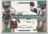 Aaron Brooks, Kurt Warner