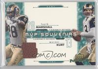Marshall Faulk, Kurt Warner