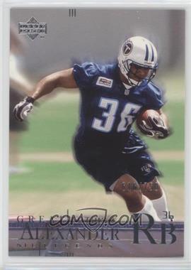 2001 Upper Deck NFL Legends - [Base] #177 - Great Futures - Dan Alexander /750