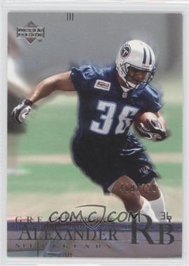 2001 Upper Deck NFL Legends #177 - [Missing] /750