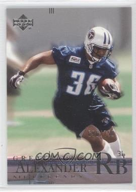 2001 Upper Deck NFL Legends #177 - [Missing] /750