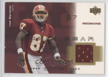 2001 Upper Deck Ovation Rookie Gear #R-RG - Rod Gardner