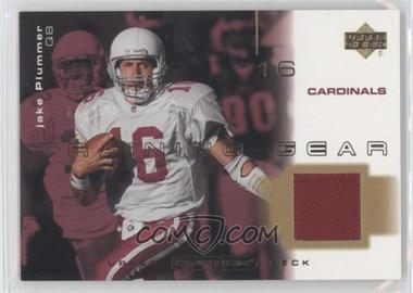 2001 Upper Deck Ovation Training Gear #T-JP - Jake Plummer