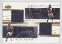 Kurt Warner, Marshall Faulk
