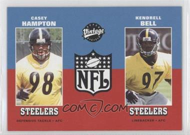 2001 Upper Deck Vintage - [Base] #272 - Casey Hampton, Kendrell Bell