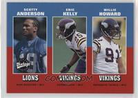 Scotty Anderson, Eric Kelly, Willie Howard