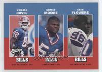 Kwame Cavil, Corey Moore, Erik Flowers /1500