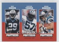 Ray Green, Lester Towns, Brad Hoover /1500