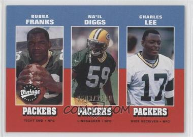 2001 Upper Deck Vintage Preview #27 - Bubba Franks, Na'il Diggs, Charles Lee /1500
