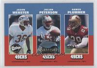 Jason Webster, Julian Peterson, Ahmed Plummer /1500