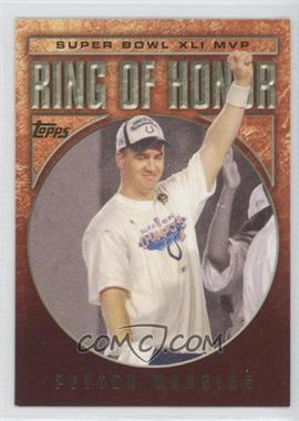 2002-Now Topps Ring of Honor #RH41-PM - Peyton Manning