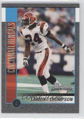 2002 Bowman [???] #209 - Lamont Thompson /250