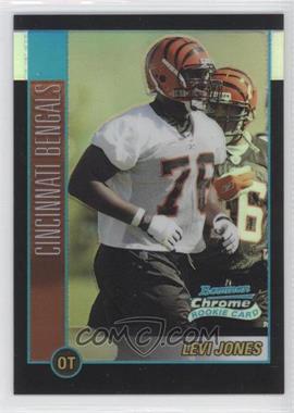 2002 Bowman Chrome [???] #118 - Levi Jones /500