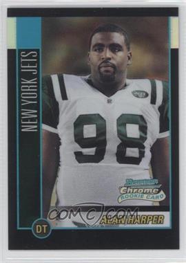 2002 Bowman Chrome [???] #179 - Alan Harper /500