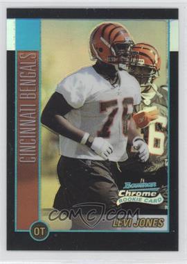 2002 Bowman Chrome Refractor #118 - Levi Jones /500