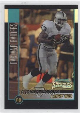 2002 Bowman Chrome Refractor #216 - Larry Ned /500