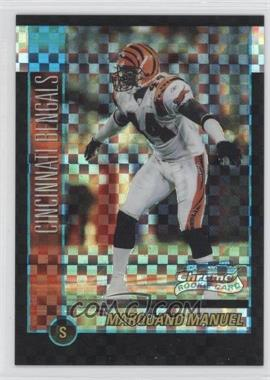 2002 Bowman Chrome X-Fractor #168 - Marquand Manuel /250