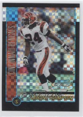 2002 Bowman Chrome X-Fractor #175 - Lamont Thompson /250