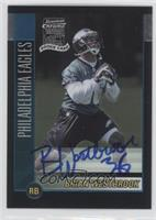 Rookie Autograph - Brian Westbrook