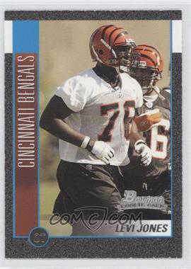 2002 Bowman Silver #119 - Levi Jones /250