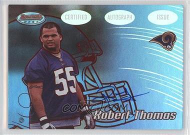2002 Bowman's Best [???] #119 - Robert W. Thomas