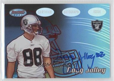 2002 Bowman's Best Red #131 - Doug Jolley /199