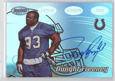 2002 Bowman's Best Red #132 - Dwight Freeney /199