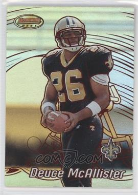 2002 Bowman's Best Red #4 - Deuce McAllister /200