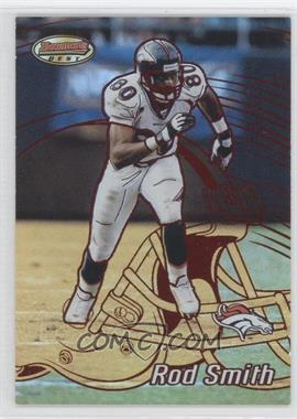 2002 Bowman's Best Red #89 - Rod Smith /200