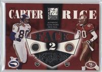 Cris Carter, Jerry Rice /350