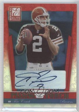 2002 Donruss Elite Passing the Torch Autograph [Autographed] #PT-8 - Tim Couch /100