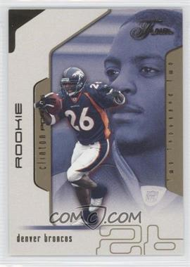 2002 Flair [???] #109 - Clinton Portis /50