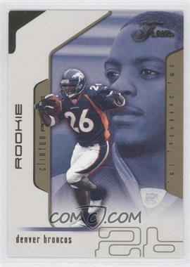 2002 Flair Collection #109 - Clinton Portis /50