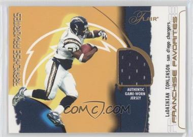 2002 Flair Franchise Favorites Jerseys [Memorabilia] #LATO - LaDainian Tomlinson