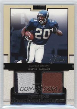 2002 Flair Franchise Tools Dual Gold #N/A - Maurice Morris /50