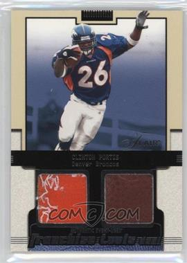 2002 Flair Franchise Tools Dual #CLPO - Clinton Portis