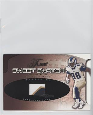 2002 Flair Sweet Swatch Memorabilia Patch #THSS - Torry Holt /150
