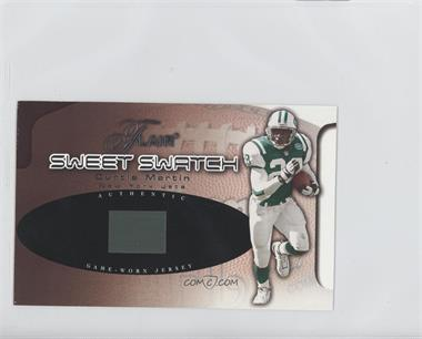 2002 Flair Sweet Swatch Memorabilia #CMSS - Curtis Martin