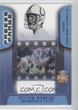 2002 Fleer Focus Jersey Edition [???] #FR-PM - Peyton Manning