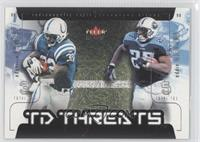 Edgerrin James, Eddie George