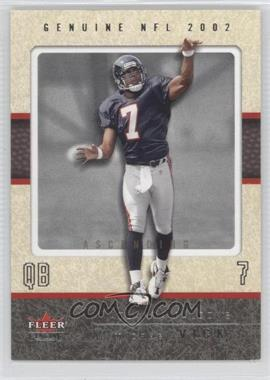 2002 Fleer Genuine [???] #41 - Michael Vick /41